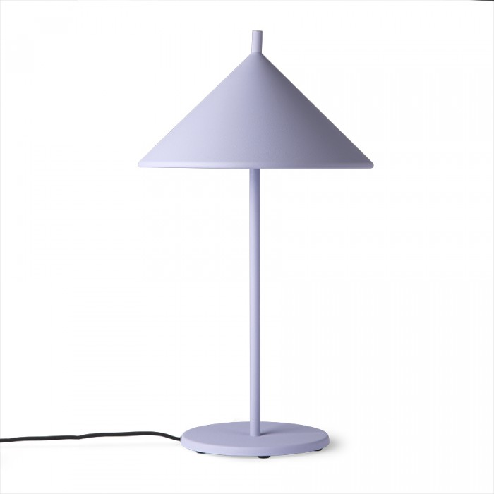 TRIANGLE lamp lilac metal
