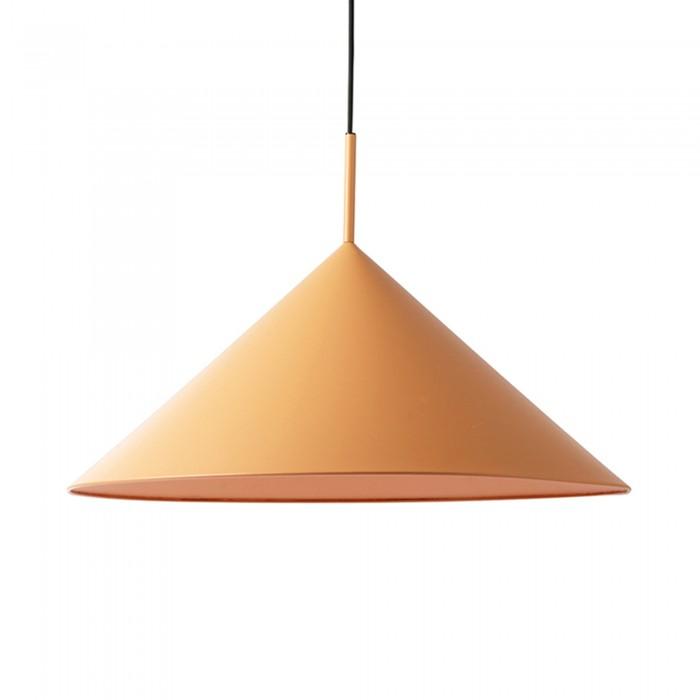 TRIANGLE pendant lamp peach metal