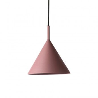 TRIANGLE pendant lamp purple metal