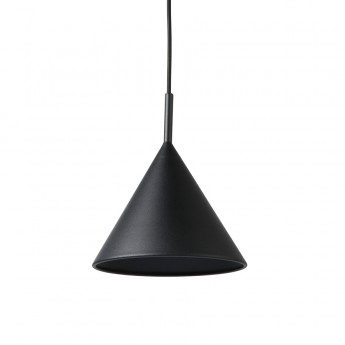 TRIANGLE pendant lamp black metal