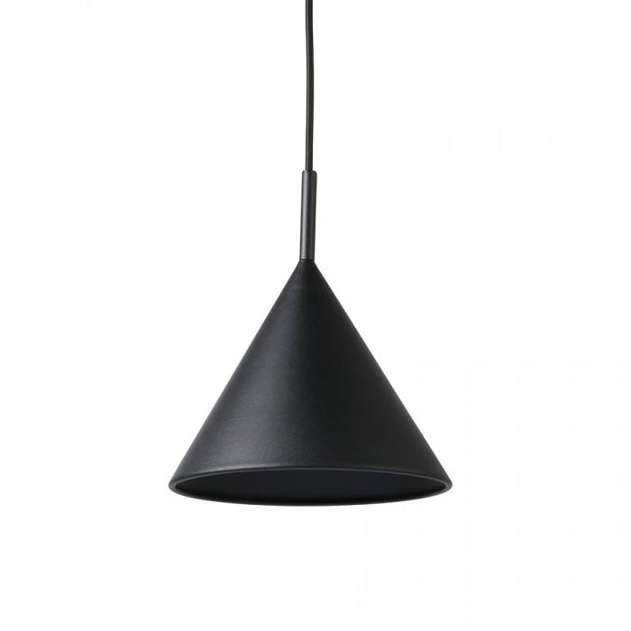 Suspension TRIANGLE en métal noir