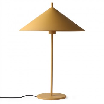 TRIANGLE lamp ochre metal L
