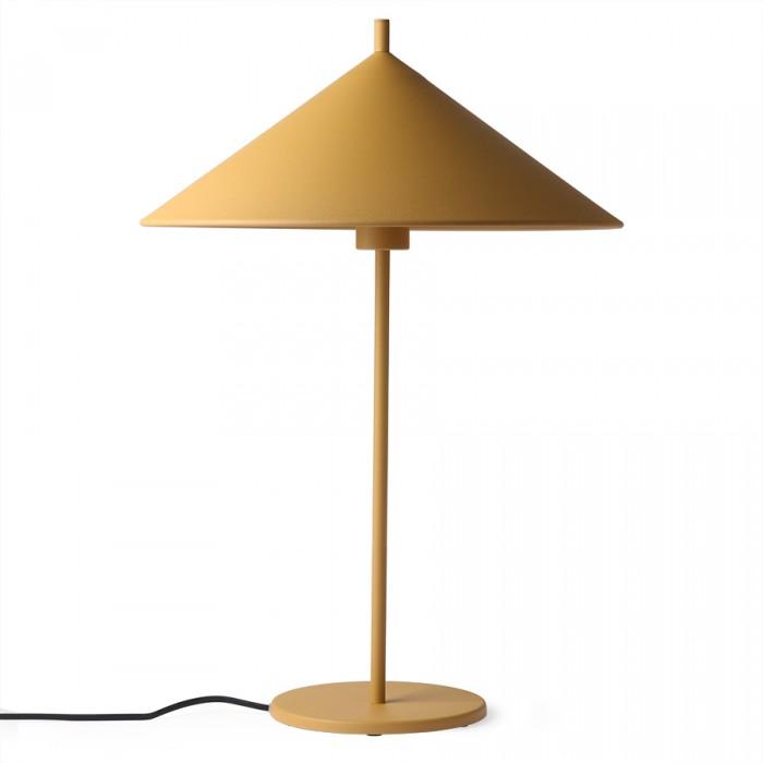 TRIANGLE lamp ochre metal L