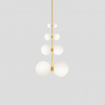 Ceiling light TRIANGLE AND GLOBE - 1
