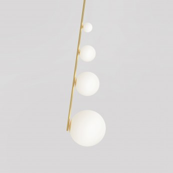 Pendant light PERSPECTIVE - 4 Globes