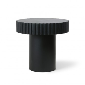 Coffee table PILLAR - Black