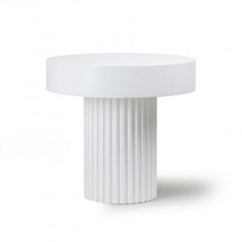 Coffee table PILLAR - White