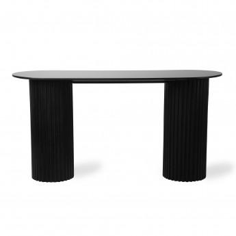 Side table PILLAR - Black