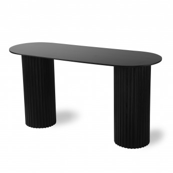 Side table PILLAR - Black