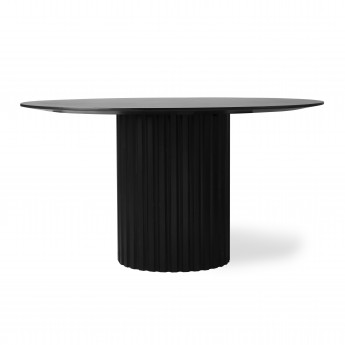 Dining table PILLAR - Black