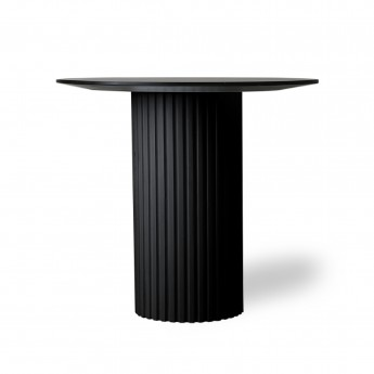 Ronde side table PILLAR - Black