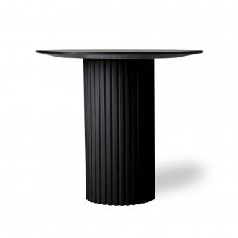 Ronde side table PILLAR - Black