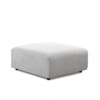 Module pouf - canapé JAX gris clair