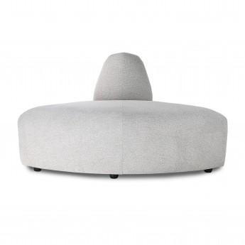 Module d'angle - canapé JAX gris clair