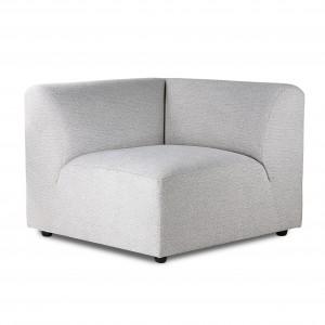 Left armrest module - JAX sofa light grey