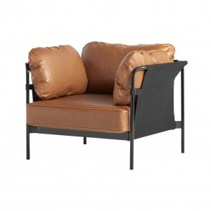 CAN Armchair - Cognac leather