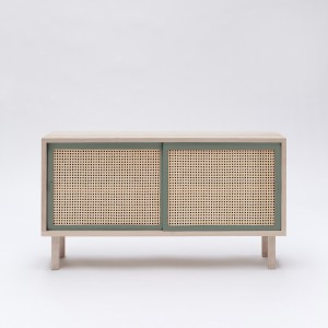 STRAW green sideboard