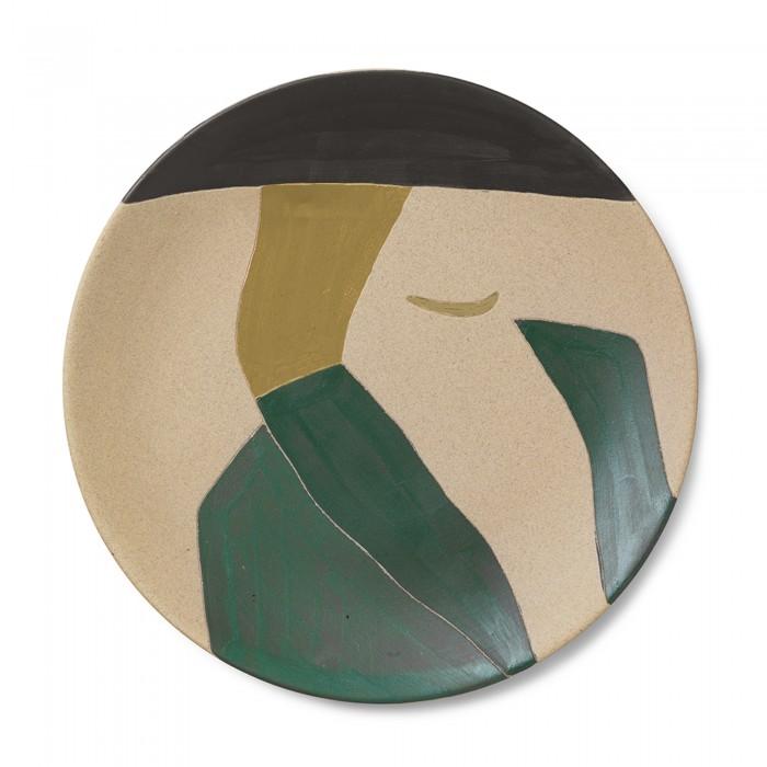 DAYO ceramic platter