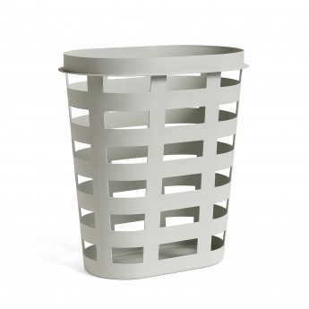 Laundry basket - L light grey