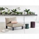 Green ORGANIC MARIE stool