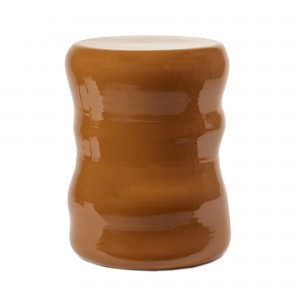 Rust ORGANIC MARIE stool
