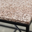 Table d'appoint TAFEL terrazzo rose