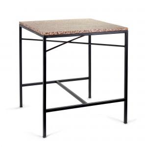 TAFEL pink terrazzo table