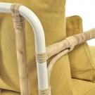 CAPIZZI yellow armchair