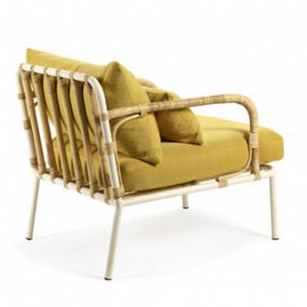 CAPIZZI yellow armchair