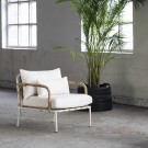 CAPIZZI cream armchair