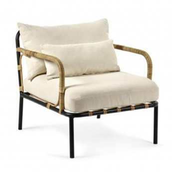 CAPIZZI cream armchair