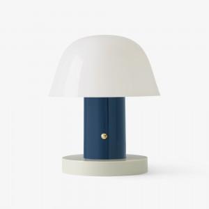 Lampe à poser SETAGO JH27 bleue