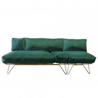 CROISETTE green velvet L