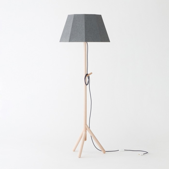 FACES lamp grey