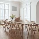 Table YACHT chêne blanc pigmenté