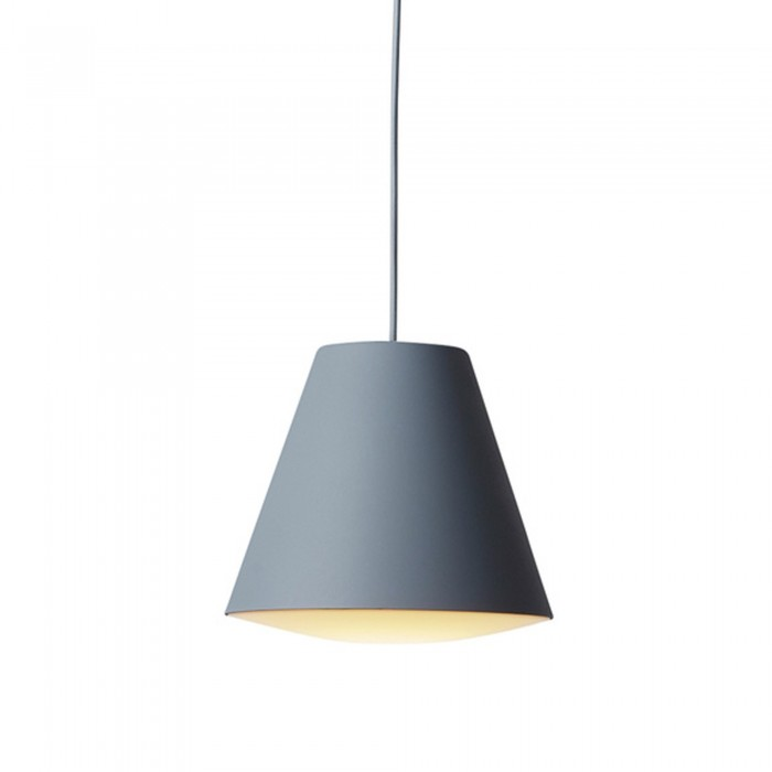 Lampe Sinker gris large