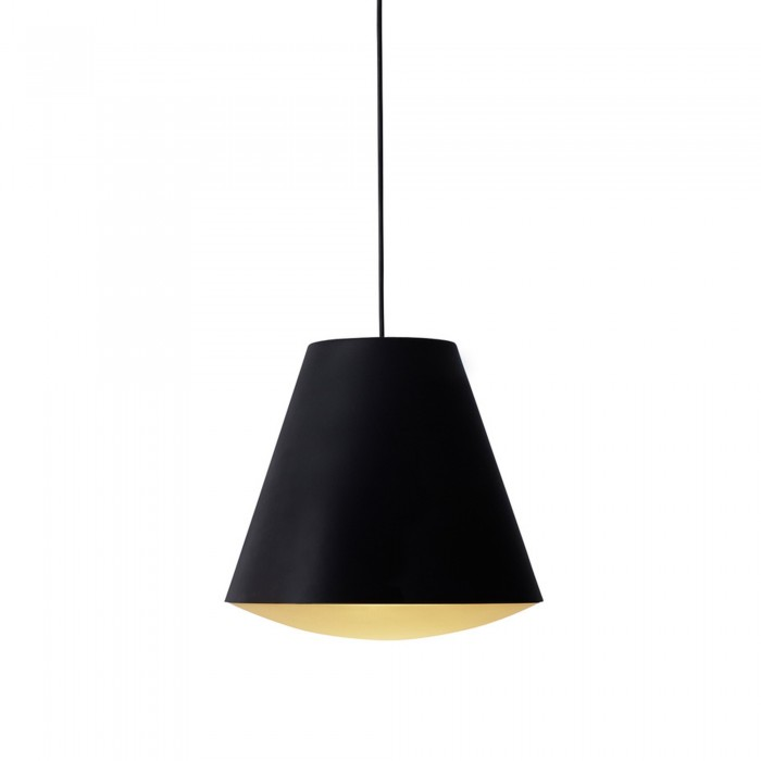 SINKER Pendant lamp black large