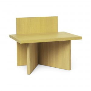 OBLIQUE Stool - Yellow ash