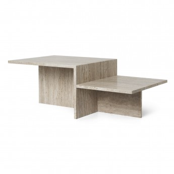 DISTINCT TRAVERTINE Coffee table