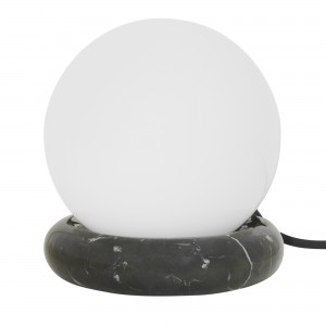 REST Lamp - Black marble