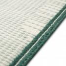 BACKSTITCH calm green rug