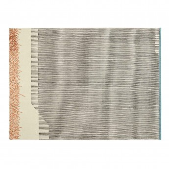 BACKSTITCH calm brick rug