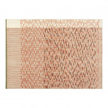 BACKSTITCH busy brick rug