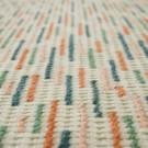 BACKSTITCH busy green rug
