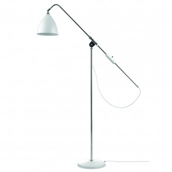 Lampadaire BL4 - Base chrome