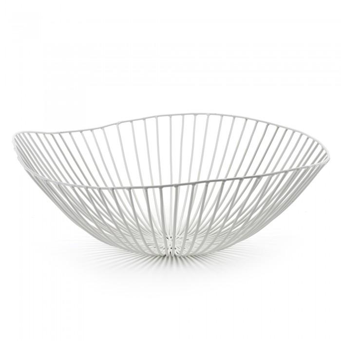 cesira fruit basket white
