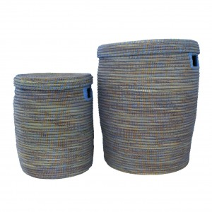 Flat Basket blue