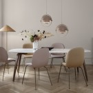 DINING elliptical table - Marble