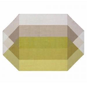 DIAMOND Rug - Pink/Yellow