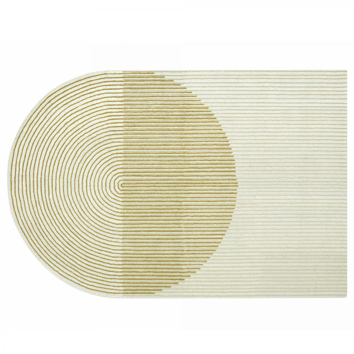 PLY Rug - Yellow by Gan Rugs.